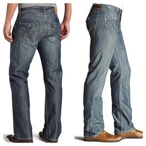 Levis 514 Men Medium Wash Straight Leg Jeans 29x32